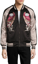 William Rast Forge Embroidered Bomber Jacket