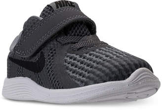 Nike Toddler Boys' Revolution 4 Stay-Put Closure Athletic Sneakers from Finish Line