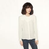 Maje Shirt with ruff