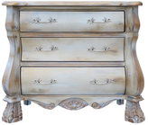 Magnus French Provincial Chest with Vine Pulls