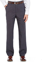 Roundtree & Yorke TravelSmart Ultimate Comfort Non-Iron Classic Fit Flat-Front Dress Pants
