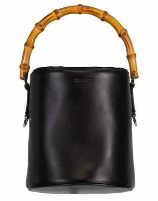 Jil Sander Bamboo Handle Soft Bucket Bag