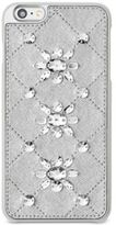 MICHAEL Michael Kors Embellished Leather-Inlay iPhone 6 Plus Cover