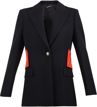 Givenchy Contrasting Insert Wool Jacket