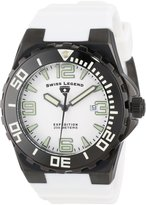 Swiss Legend Men's 10008-BB-02WHT Expedition Dial Silicone Watch