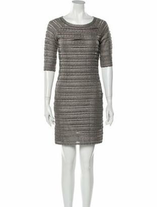Christian Dior 2011 Mini Dress Grey
