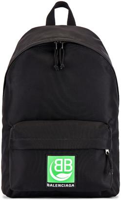 Balenciaga Explorer Backpack in Black   FWRD