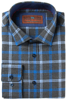 James Tattersall Cotton Checkered Sportshirt
