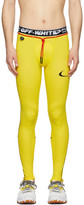 Nike Yellow Off-White Edition NRG RU Pro Sport Leggings