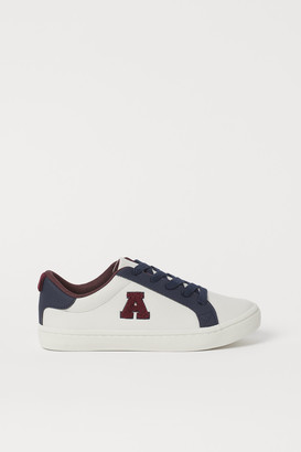 H&M Appliqued Sneakers