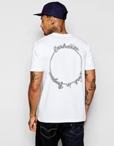 Carhartt Rope T-shirt With Back Print - White