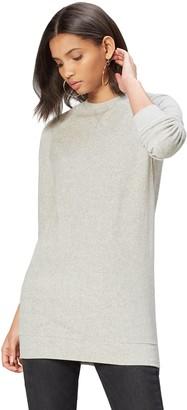 Find. Amazon Brand Women's Sweatshirt in Soft Velour with Crew Neck