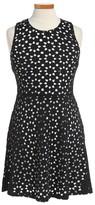 Ruby & Bloom Girl's Lasercut Sleeveless Dress