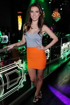 Boulee Levi Mini Skirt in Orange