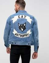 Diesel J-Ashton Catastrophy Denim Jacket