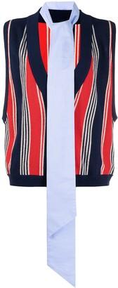Jejia Stripe Knit Pullover