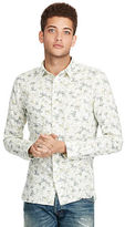 Denim & Supply Ralph Lauren Floral Slub Cotton Shirt