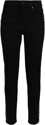 McQ Zip-detailed High-rise Skinny Jeans