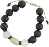 Armenta Onyx, Aquamarine & Chrysoprase Beaded Bracelet