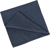 Oxford Pocket Square Chevron Blue