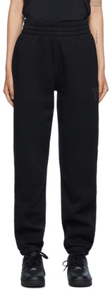 Alexander Wang Black Foundation Terry Lounge Pants