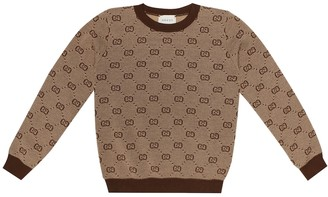 Gucci Kids GG wool and cotton sweater