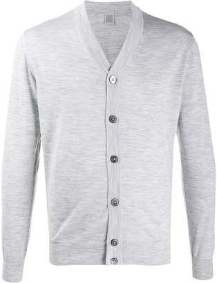 Eleventy long-sleeve fitted cardigan