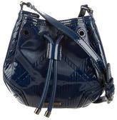 Burberry Nova Check Embossed Crossbody Bag