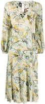 Diane von Furstenberg wrap style dress