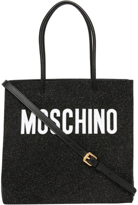 Moschino Logo Double Handle Tote Bag 7463 8008