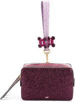 Anya Hindmarch Circulus Stack clutch - women - Calf Leather - One Size
