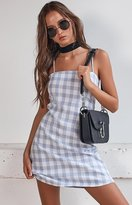 Beginning Boutique Sally Dress Blue Check