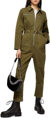 Topshop Mabel Utility Jumpsuit