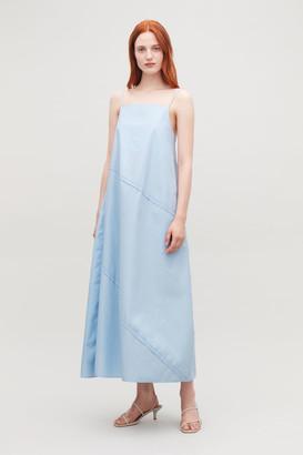 Cos Voluminous Strap Dress
