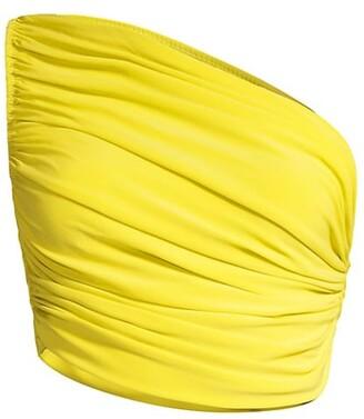 Norma Kamali Diana One-Shoulder Bikini Top