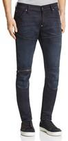 G Star Arc Zip 3D Slim Fit Jeans in Vintage Aged Cobler