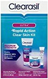 Clearasil Ultra Rapid Action Clear Skin Kit (3 items in kit) 1 ct (Pack of 10)