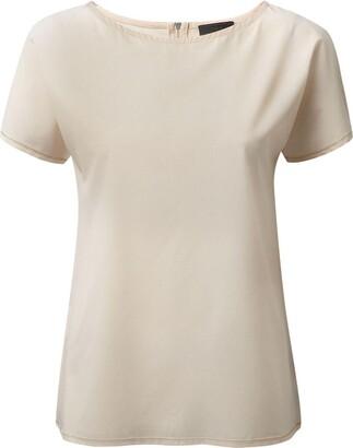 Craghoppers Womens/Ladies NosiLife Carmel Short-Sleeved Top (8 UK) (Blush)