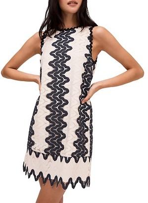 Kate Spade Sand Dune Lace Shift Dress