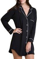 Eberjey Gisele Sleepshirt, Black