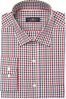 Club Room Men's Regular Fit Gingham Dress Shirt, Created for Macy's