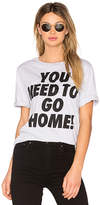 Kenzo Single Jersey You Need To Go Home Tee