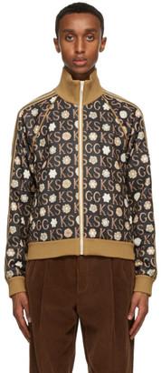 Gucci Black Ken Scott Edition Print Zip-Up Track Jacket