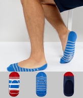 Timberland 3 Pack Sneaker Socks