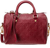Louis Vuitton Purple Monogram Empriente Leather Speedy 25 Bandouliere