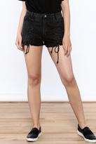 Honeybelle honey belle Black Denim Shorts