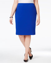 Nine West Plus Size Pencil Skirt
