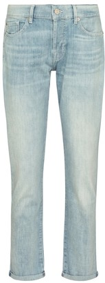 7 For All Mankind Asher mid-rise boyfriend jeans