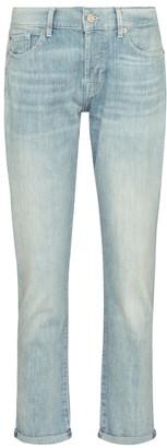 Asher mid-rise boyfriend jeans