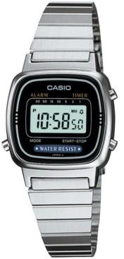 Casio Unisex Digital Stainless Steel Bracelet Watch 25mm